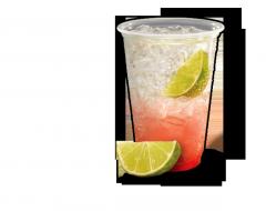 Cherry Limeade Sparkler