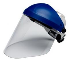 Clear Polycarbonate Faceshield WP96, Face