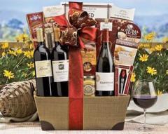 Wine Baskets, California Trio