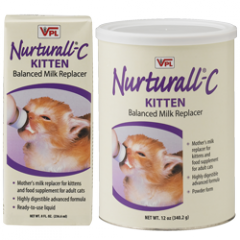 Nurturall®-C Balanced Milk Replacer for Kittens