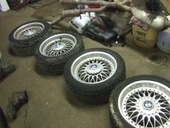 BMW E39 5- series OEM 2 piece alloy wheels