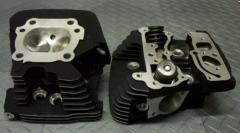 AMS hi-performance Ported Cylinder Heads for TWIN
