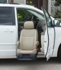 Compact Lift-Up® Seat Turning Automotive Seating
