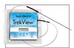 TrekView® Temperature Recorder for the Food
