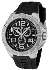 Men's Super Shield Chronograph Black Dial