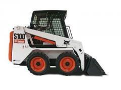 Skid Steer Loader, Bobcat S100