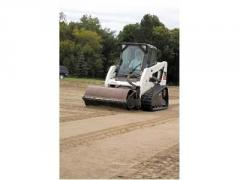 Vibratory Roller With Smooth Drum, Bobcat