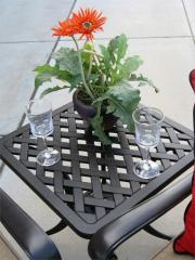 Outdoor Patio End Table