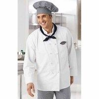 Aramark Chef Coat with French Knot Buttons