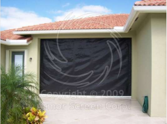 Armor Screen hurricane shutters protect from wind