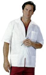 MD:4310 Barber Coat Zip Front Jacket