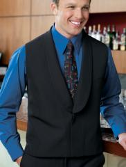 Collarless Vest Hotel Restaurant Banquet Uniforms