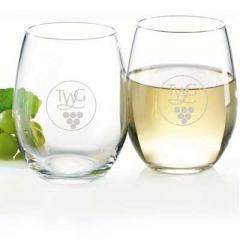 IG127 15 oz. Stemless White Wine Glass