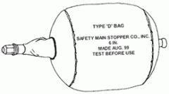 "Type ""D"" Directional Gas Bag"