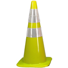 Lime Traffic Cone with Collars O-3004290