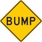 Bump Sign N-W81-CES