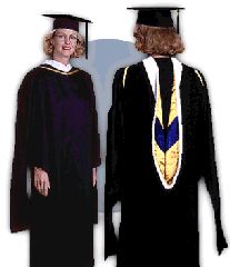 Master's Outfit (Cap, Gown, Tassel)
