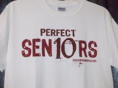 Perfect 10 Senior Shirt-Red
