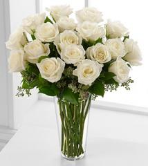 The FTD® Long Stem White Rose Bouquet N20-4308