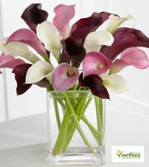 Amethyst Riches Calla Lily Bouquet FC32