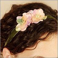 Women's floral soft adjustable headbands