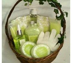Green Tea Fragrance Gift Basket CFV-011