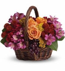 Sending Joy Flower Basket T173-3A