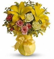 Teleflora's Sunny Smiles Bouquet T42-1A