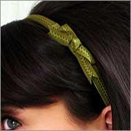 Women's bow headbands
