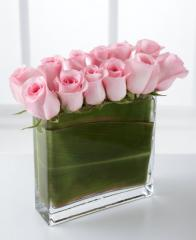 The FTD® Eloquent™ Pink Rose Bouquet N7-4332