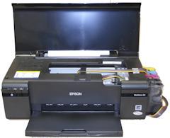 Epson WorkForce 30 – Prints 8.5x11 heat transfers