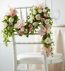 The FTD® Orchid Rose™ Chair Décor W19-4672