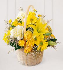 The FTD® Flourishing Garden™ Basket C12-3035