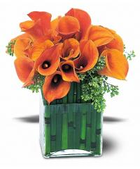 Bronze Callas Bouquet