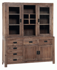 Champagne 4552 Sideboard and Hutch
