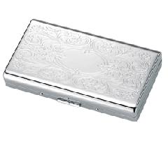 Luxury High Gloss Paisley Engravable Cigarette