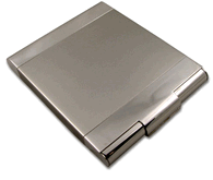 Sleek Two Tone Cigarette Case