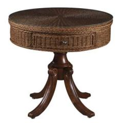 Seagrass Drum Table