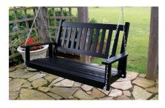 Plantation Slat Porch Swing 854PS & 855PS