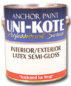 Uni-Kote Interior/ Exterior Semi-Gloss Latex...
