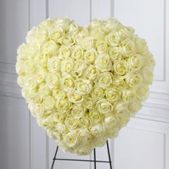 The FTD® Elegant Remembrance™ Standing Heart
