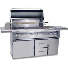 Alfresco LX2 56 Inch Gas Grill On Refrigerated
