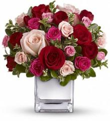 Teleflora's Love Medley Bouquet with Red