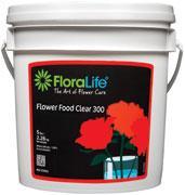 Flower Food Clear 300 - Clear fresh cut flower