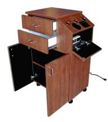 QSE Deluxe 39Hi Portable Styling Station