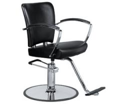 Styling Chair with Metal Cushioned Arms
