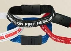 Reflective Cotton 1 Ply Wristbands