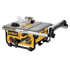 "10"" Compact Job Site Table Saw with"