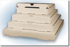 Corrugated Pizza Boxes - Plain