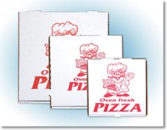 Corrugated Pizza Boxes - Stock Print
